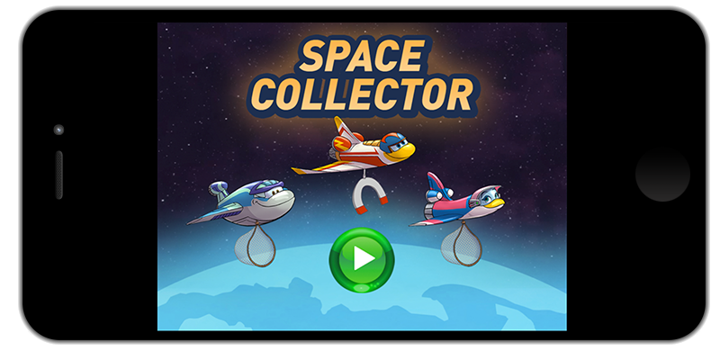 Space Collector, HTML Game