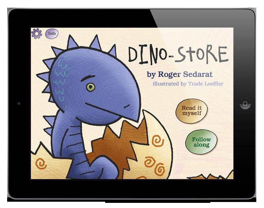 Dino-Store Storybook App