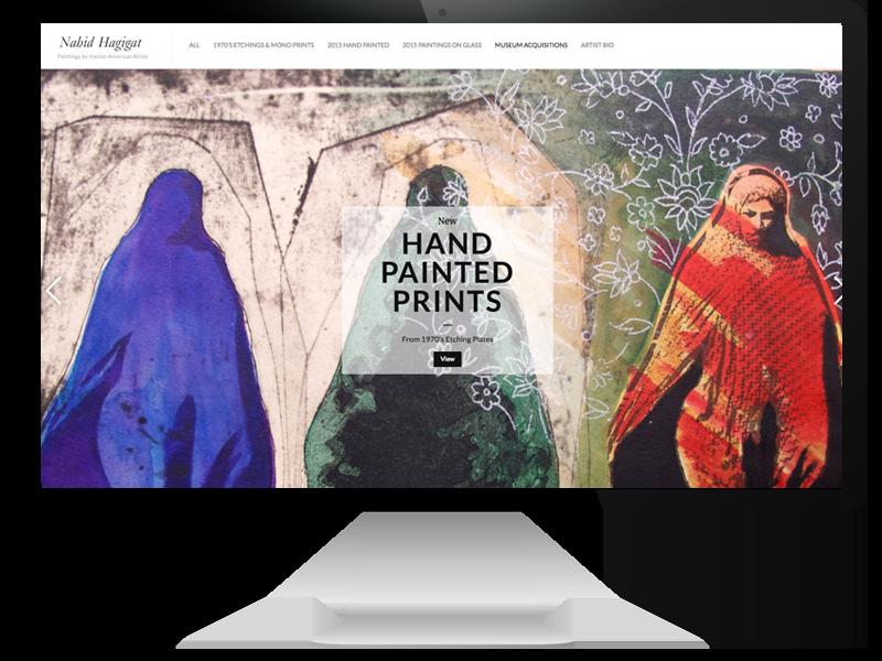 Nahid Hagigat Website