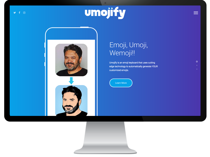 Umojify Website by Bluemarker LLC